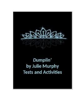 Dumplin' by Julie Murphy Tests and Activities