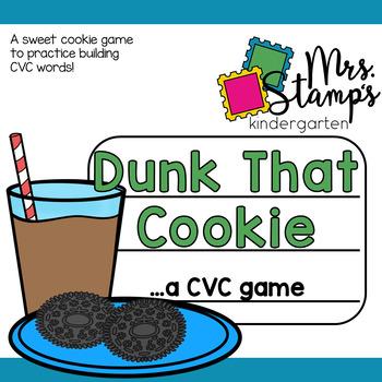 Dunk That Cookie...a CVC game!