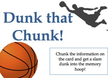 Dunk that Chunk! An Executive Function Activity Using Chunking