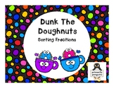 Dunk the Doughnuts: Sorting Fractions
