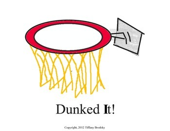 Dunked It! Pre-Primer Dolch Words Reading Fluency & Vocabulary Centers