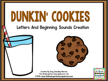 Dunkin' Cookies! Letters & Beginning Sounds