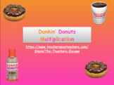 Dunkin' Donuts Maths- Multiplication!