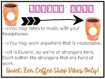 Dunkin' Mode Poster