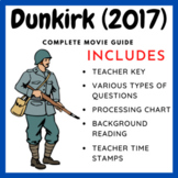Dunkirk (2017) - Complete Movie Guide and Background Worksheet