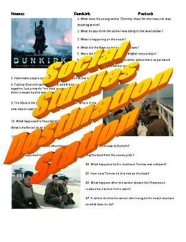 Dunkirk Movie Guide & Key