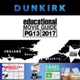 Dunkirk Movie Guide   Questions   Worksheet (PG13 - 2017)