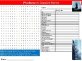 Dunkirk Movie Wordsearch Puzzle Sheet Keywords Activity Film History