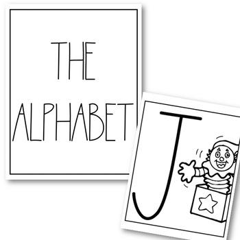 Dunn Alphabet Posters