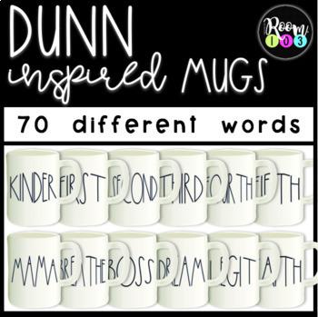 Dunn Inspired Mug Clipart