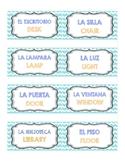 Duo Spanish / English Class Labels!