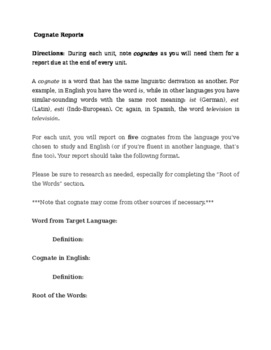 Duolingo Project for Latin Class or other Latinate Language