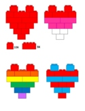 Duplo Style Heart Patterns