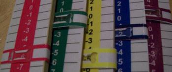 Durable & Cheap Numberline Sticks