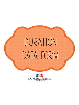 Duration Data Form