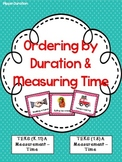 Measurement - Duration & Time, Ordering and Comparing