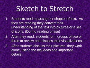 During Reading Activities for Literature PowerPoint Presentation