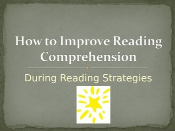 During Reading Strategies for Middle Schoolers