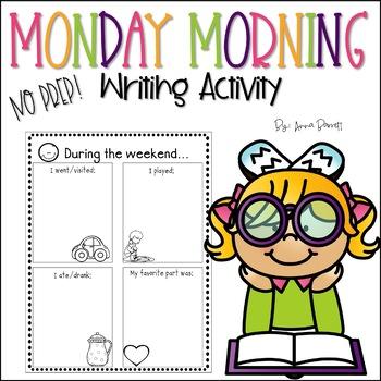 Monday Morning Activity