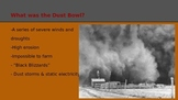 Dust Bowl Background Powerpoint and Video Link