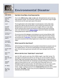 Dust Bowl Environmental Disaster (Common Core)