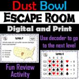 Dust Bowl: Escape Room - Social Studies (Great Depression Unit)