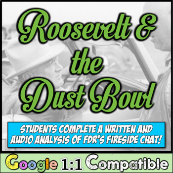 Dust Bowl, FDR, and Fireside Chats:  What did Roosevelt See in the Dust Bowl?