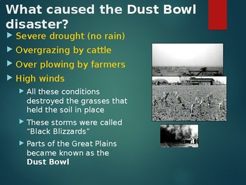 Dust Bowl Power Point