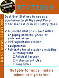 Dust Bowl Stations 6 Stops 12 Assignments English History Middle or High School