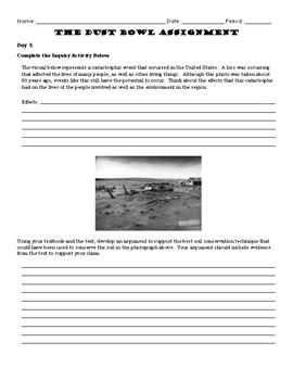 Dust Bowl Study