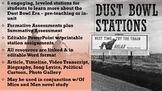 Dust Bowl Work Stations ELA U.S. History Of Mice and Men U