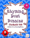 Dust Bunnies-A Rhyming Unit