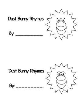 Dust Bunny Rhyming Book