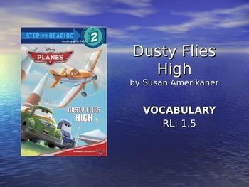 Dust Flies Home Vocabulary Slideshow