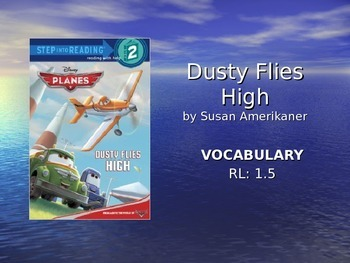 Dust Flies Home Vocabulary Slideshow