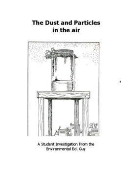 Dust & Particles in Our Air - A Student Investigation