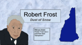 Dust of Snow, Robert Frost, Poetry, Scaffolded Activity, speech therapy