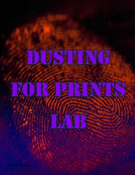 Dusting For Prints Lab