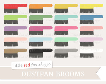 Dustpan Broom Clipart; Cleaning, Dust Pan, Supplies