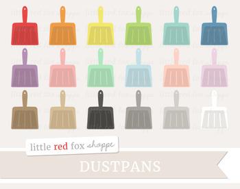 Dustpan Clipart; Cleaning, Dust Pan, Supplies