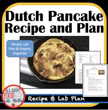 Dutch-Apple Pancake Recipe- Organized for a FACS Class!