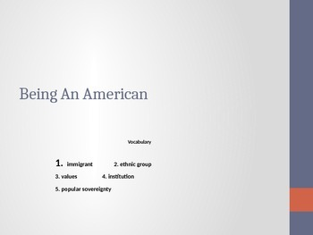 Duties and Responsibilities of being an American