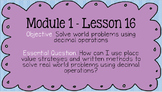 Duval Math (Engage NY, Eureka Math) Grade 5 Math Module 1 PowerPoint Lessons