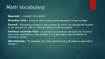 Duval Math, Engage NY, Eureka Math Grade 5 Module 1 Lesson 7