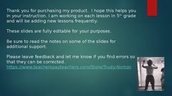 Duval Math, Engage NY, Eureka Math Module 1 Lesson 6 Grade 5