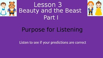 Duval Reads (Engage NY) Module 1 Lesson 3 (Beauty and the Beast Part I)