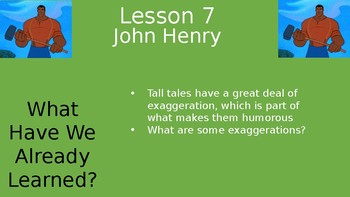 Duval Reads (Engage NY) Module 1 Lesson 7 (John Henry)