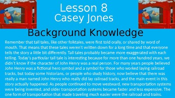 Duval Reads (Engage NY) Module 1 Lesson 8 (Casey Jones)