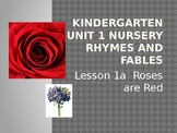 Duval Reads Unit 1 Lesson 1A  Roses are Red and 1B Ring Around the Rosies