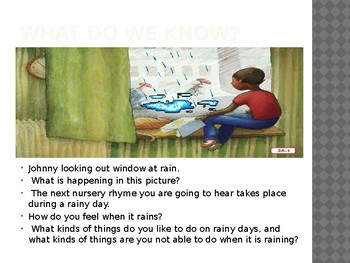 Duval Reads Unit 1 Lesson 2A  Rain Rain Go Away & 2B It's Raining, It's Pouring